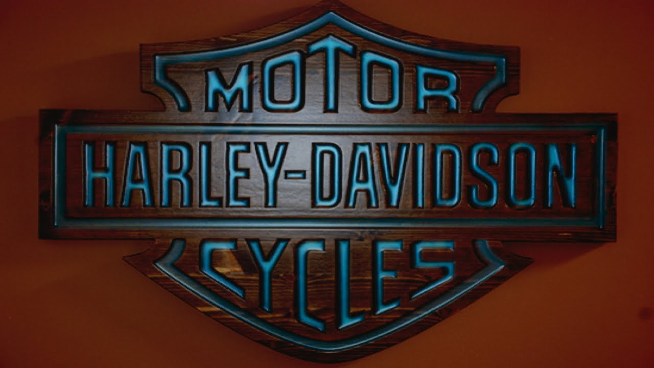 Harley Davidson Glow Sign Youtube