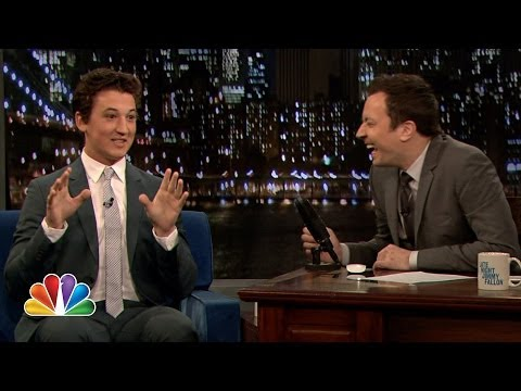 Miles Teller Has a Special Super Fan Online (Late Night with Jimmy Fallon)