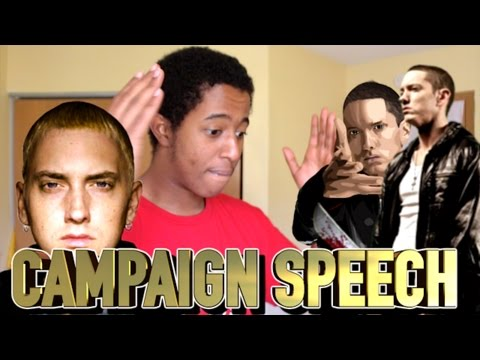EMINEM - CAMPAIGN SPEECH (REACTION)