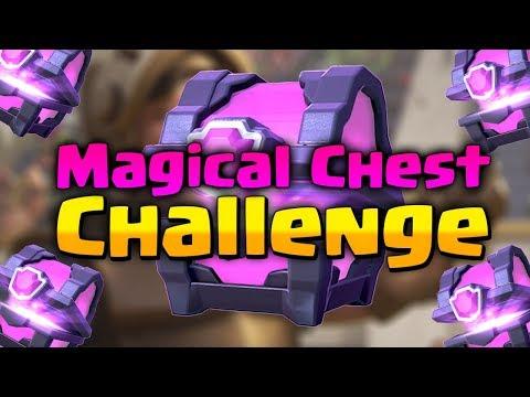 Magical Chest Challenge | Ezek Aztán Érdekes Deckek! | Clash Royale Magyarul