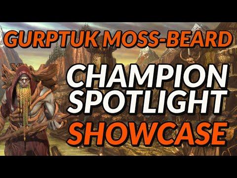 Gurptuk Moss Beard Champion Spotlight  | Raid: Shadow Legends