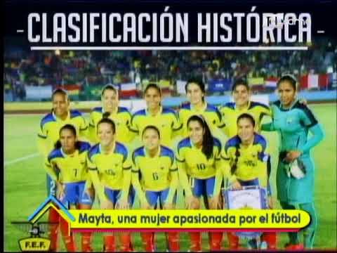 Mayta, una mujer apasionada por el fútbol