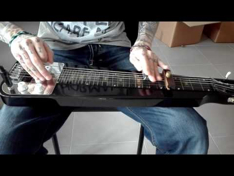 Gary O'slide lap steel guitar rock n blues