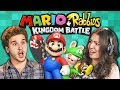 COLLEGE KIDS PLAY MARIO + RABBIDS KINGDOM BATTLE! (React: Gaming)