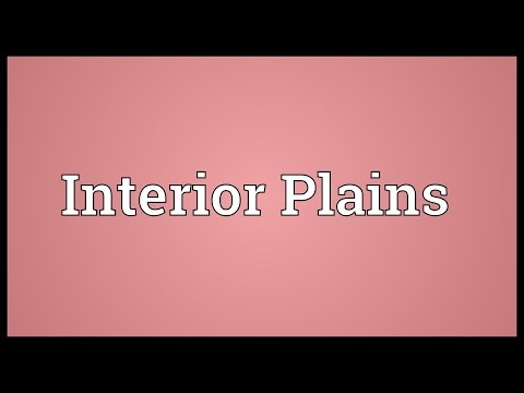 Interior Plains Meaning