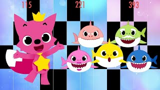 Baby Shark In Piano Tiles 2 !!! Pinkfong Song