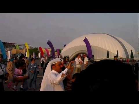 Qatar International School-Choir performance at Katara, Doha 24 Nov 2012