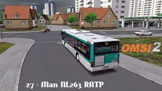 [OMSI 2] NC - #27   Grundorf 2.0 - Ligne 32 en Man NL263 RATP !