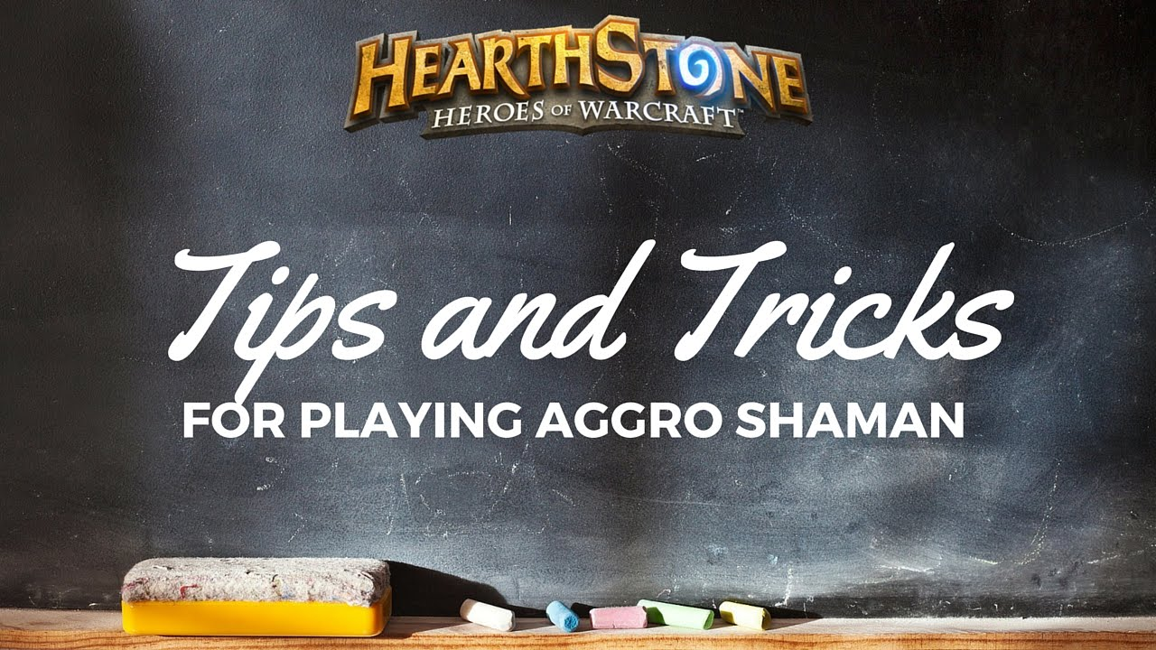 how to play shaman hearthstone