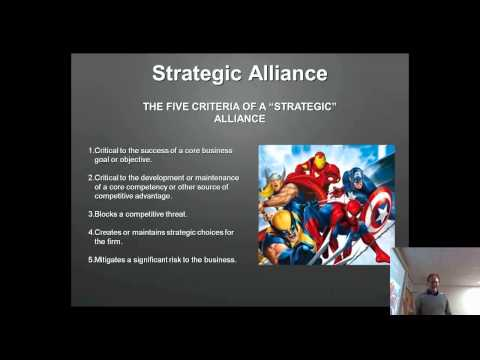 Private Sector Alliances: Alliances and Joint Ventures