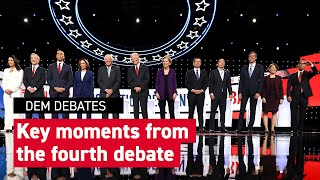 What you missed at the Democratic debate