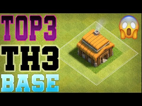 Clash Of Clans Top 3 Best Town Hall 3 [TH3] Base Design -  #2