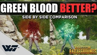 How to change blood colour in pubg simple greenpolygames