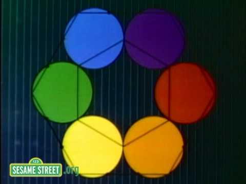 Geometry of Circles: Philip Glass + Sesame Street (1979) – Brain
