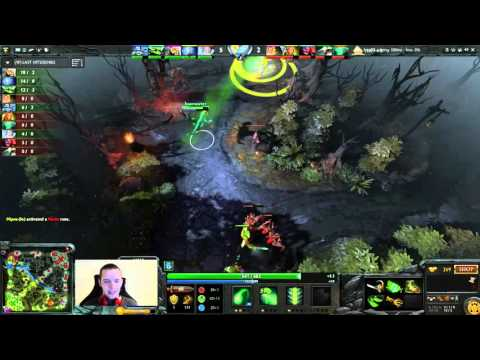 Waga casts 1k MMR vs 5k MMR  Game 2