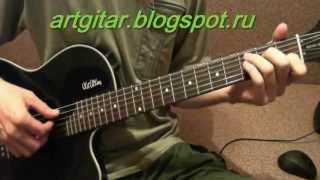 Beatles - Let It Be урок на гитаре, аккорды, табулатура