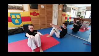 Zirkeltraining Taekwondo für zu Hause