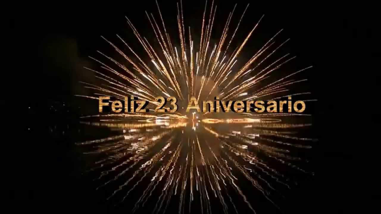 Feliz Aniversario De Casados: Feliz 23 Aniversario