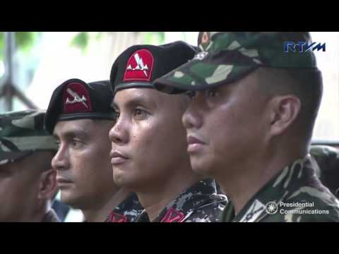 Talk to the Troops in Jolo, Sulu (Speech) 8/12/2016