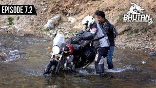 RE Interceptor 650 water crossing