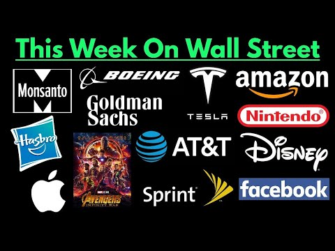 This Week On Wall Street (April 29, 2018 To May 6, 2018)