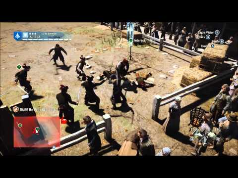 Assassin's Creed Unity | THE TOURNAMENT | Co-op Mission - Solo