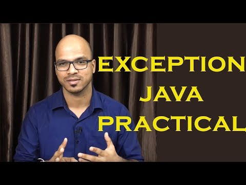 Exception Handling in Java | Tutorial | Lecture
