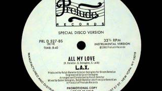 [Disco Down] Lax - All my Love (Instrumental Special DIsco Version)