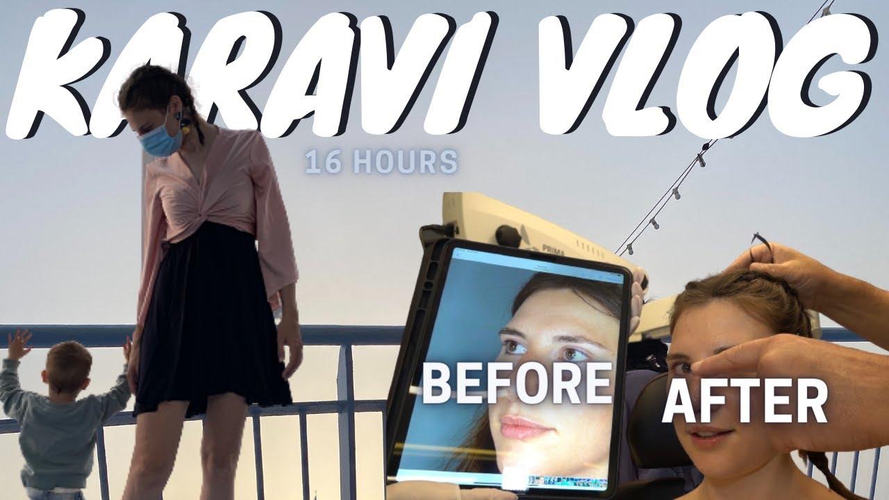 Δείπνο στο καράβι και η νέα μύτη | Vlog | Vanessa Mi