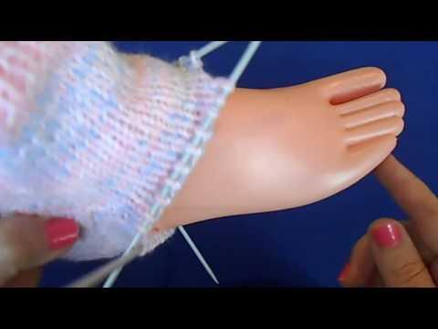 Youtube-Tutorial: Вязание спицами - Вязание носков классически способом