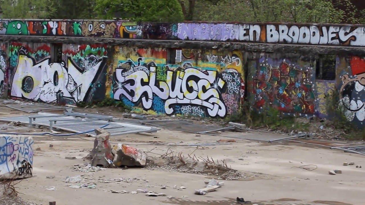 Graffiti wall utrecht - Graffiti Muur Utrecht 5
