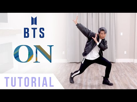BTS - 'On' Dance Tutorial (Explanation + Mirrored) | Ellen and Brian