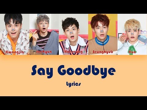 N.FLYING (엔플아잉) SAY GOODBYE (짠해) Lyrics (Han/Rom)