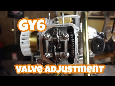 GY6 valve adjustment: HOW TO