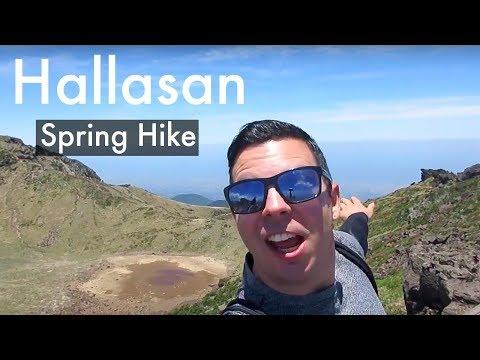 Hallasan 한라산 Jeju Island Korea - Hiking During the Spring Time