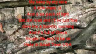 Small Town USA with lyrics- Justin Moore