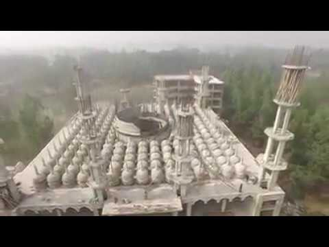 201 Gombuz Jame Mosjid Full Sky view Videos In Gopalpur Upazila Tangail District