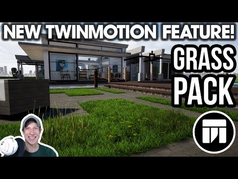 What's NEW In Twinmotion - HIGH QUALITY GRASS UPDATE