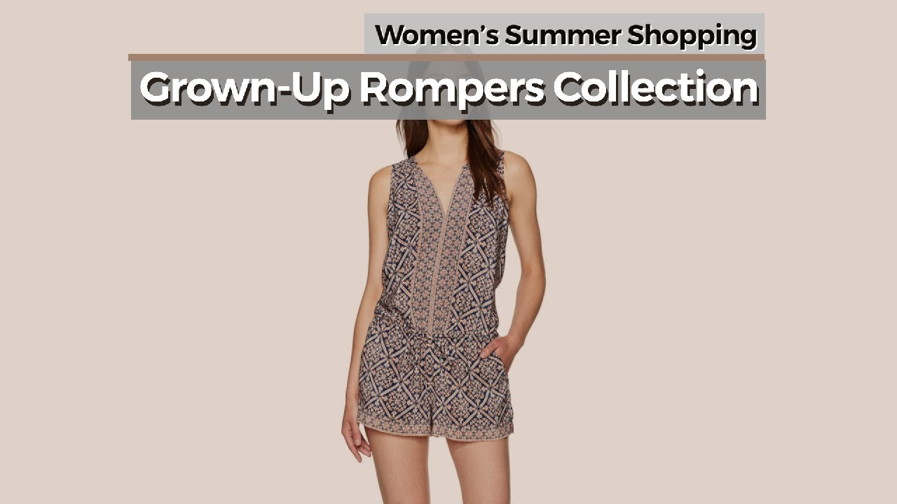 e6ecc6b0cdc Grown-Up Rompers Collection    Women s Summer Shopping - YouTube