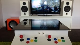 Home Made 2 Player Arcade Coffee Table (ultimate Coffee Table)