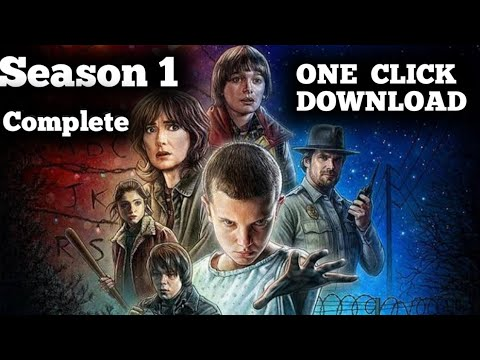 Download How to Download Stranger Things Season 1 (complete) in Hindi-English (Dual Audio) 720p