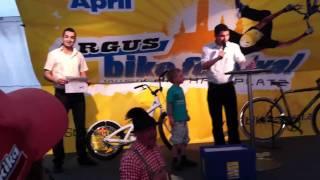 3G BIKES - Bike Festival 2011 Stepperbike-Verlosung.MOV