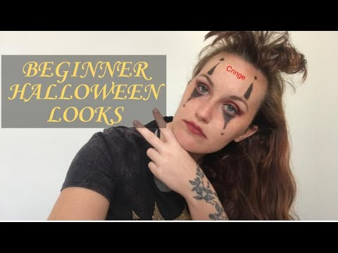 Beginner tries Halloween makeup! thumbnail