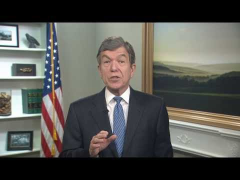 Sen. Roy Blunt (R-MO) delivers Weekly GOP Address on real job creation solutions
