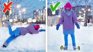 24 COOL LIFE HACKS FOR WINTER