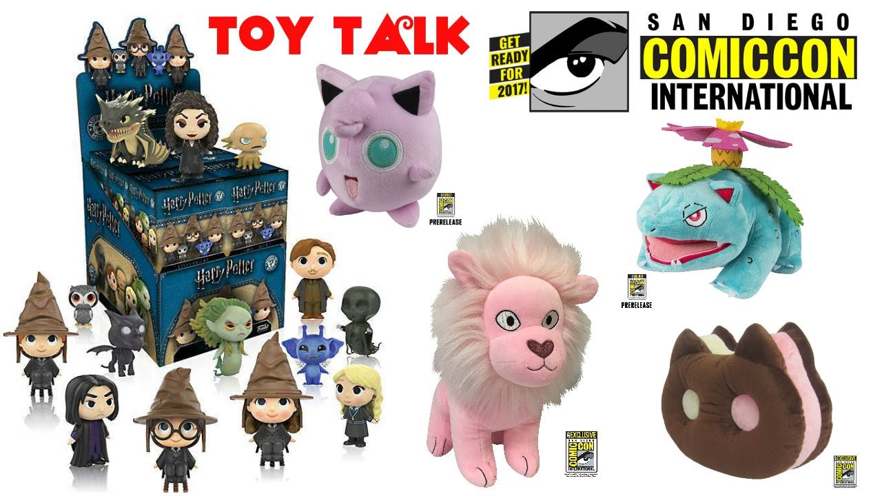 SAN DIEGO COMIC CON 2017 STEVEN UNIVERSE POKEMON FUNKO POWER RANGERS TRANSFORMERS