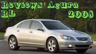 Reviews Acura RL 2008