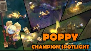 POPPY CHAMPION SPOTLIGHT - League of Legends 2015 Rework Guide