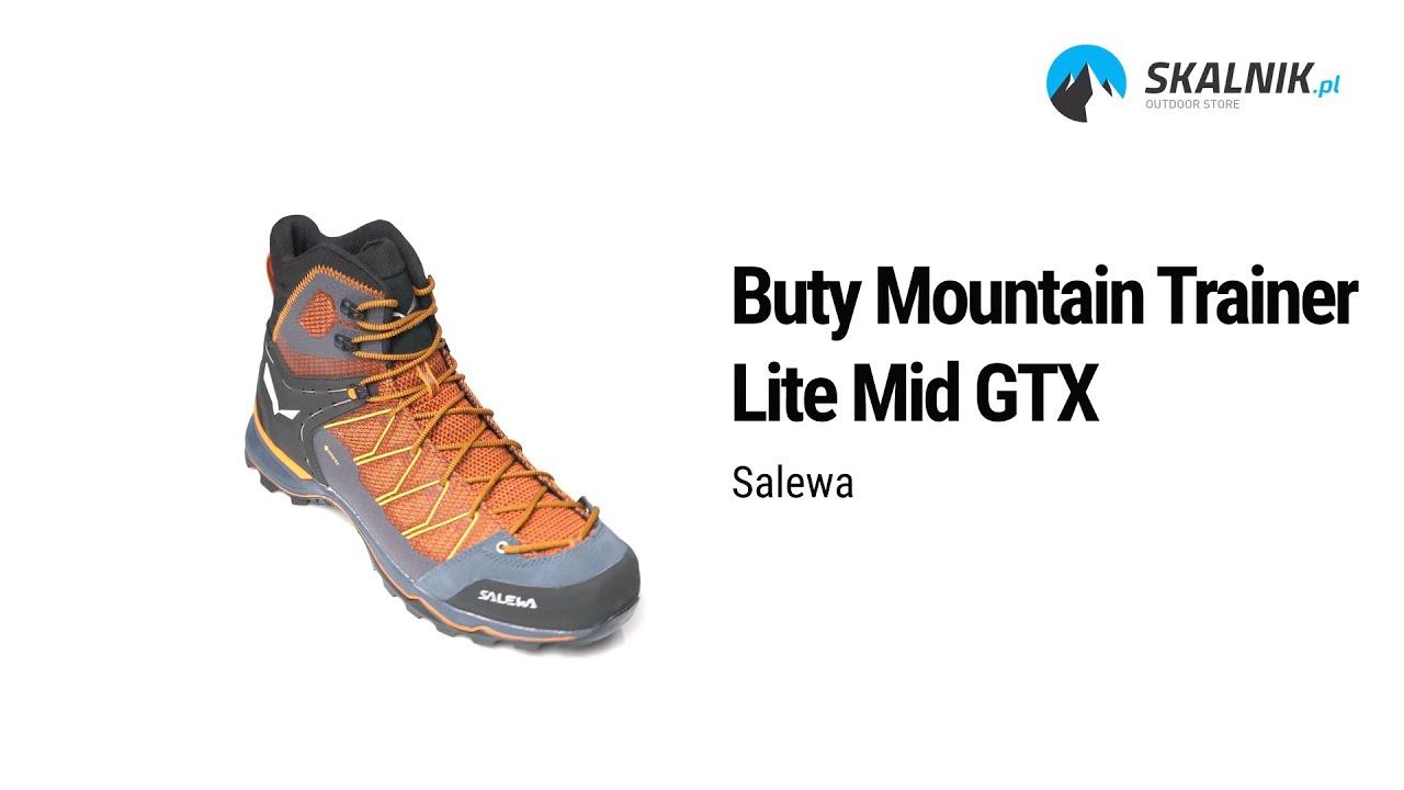 Buty Salewa Mountain Trainer Lite Mid Gtx Skalnik Pl Youtube