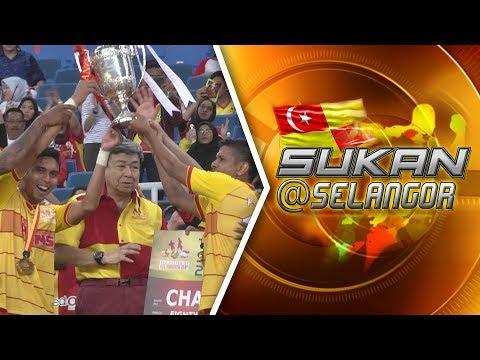 Selangor tunduk Singapura, rampas Piala Sultan